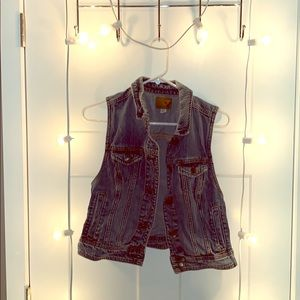 Sleeveless Jean Jacket from American Eagle